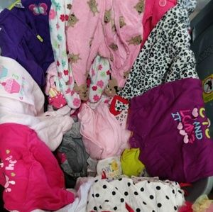 Huge bundle baby girl clothes newborn and 3 month